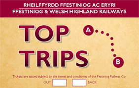 Top Trips on the Ffestiniog & Welsh Highland Railways