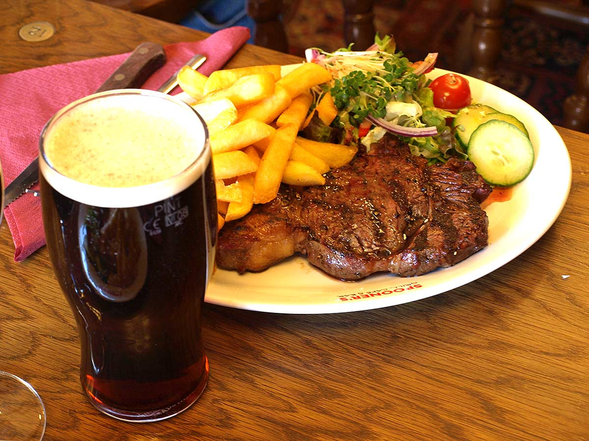 steak and a Our beef  is sourced from grass fed ethically reared herds that graze on pastures from the.