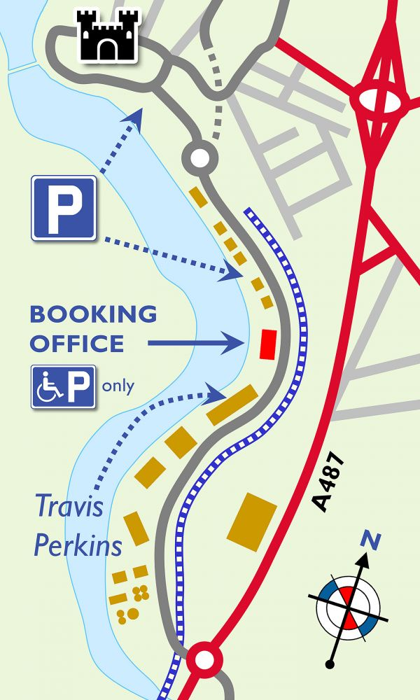 Location of Booking Office