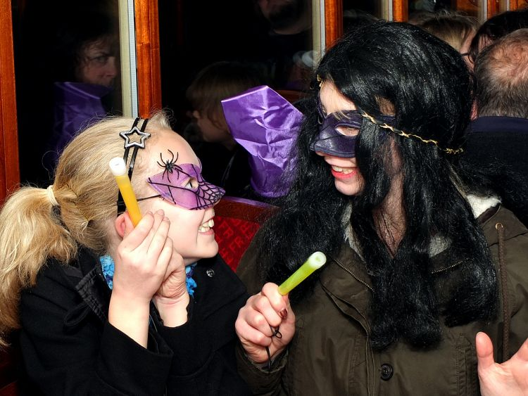 Ffestiniog Railway Halloween Train