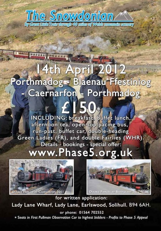 Ffestiniog & Welsh Highland Railways The Snowdonian rides again