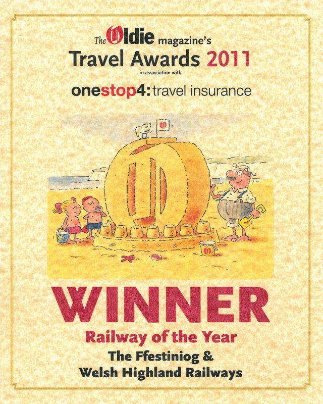 The Oldie Award