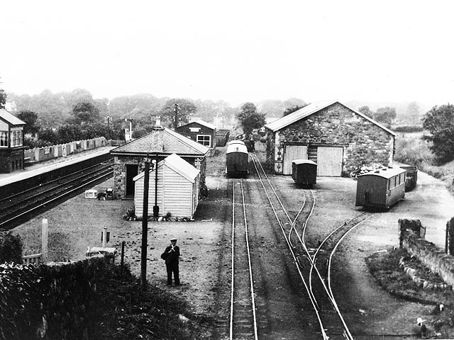 Dinas Junction in 1934