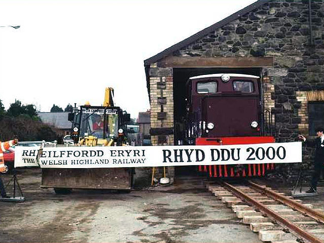 Rhyd Ddu by 2000? - it would take a few years longer!
