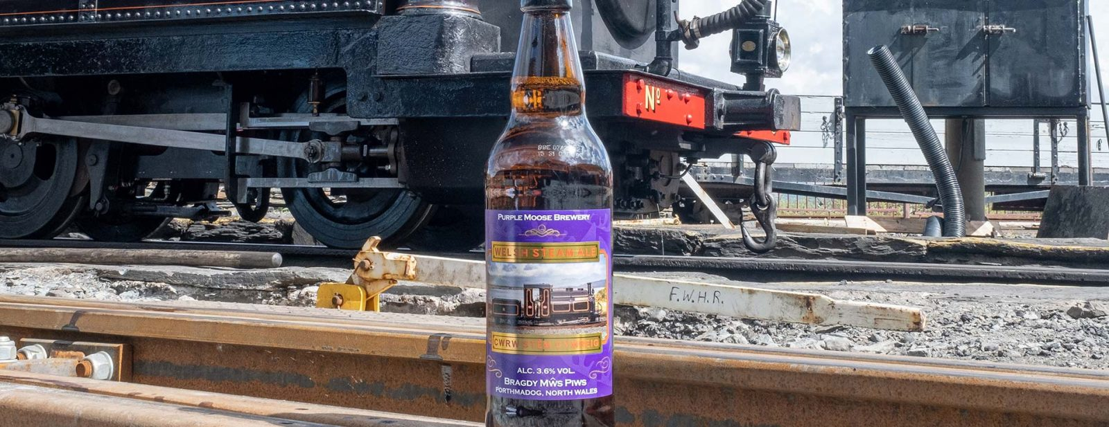 """""""Welsh Steam Ale"""" launched at Porthmadog Harbour Station"""